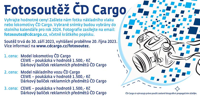 Fotosúťaž s ČD Cargo
