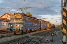 ''Vyťažený'' nákladný vlak dopravcu PSP