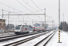 Traxx 186 351 ''akiem AWT'' konečne aj na južnom Slovensku