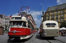 Další historická tramvaj typu T 2 v provozu