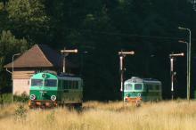 SU 46-008 a ST 43-392 ve stanici Mieroszów
