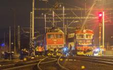 Zrážka vlakov v Pezinku