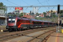 Railjet ÖBB opäť na Slovensku na skúšobných jazdách