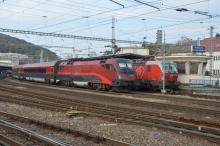 Railjet ÖBB opäť v Bratislave
