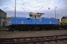 Srbská žehlička E 443-09 v Bratislave