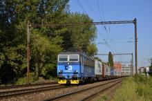 363.038 ČD Cargo s kontajnermi