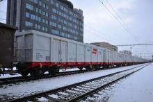 Preprava nových vozňov radu Eaos Rail Cargo Group