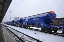 Preprava nových vozňov radu Tanpps K+S (Kali+Soda) WASCOSA