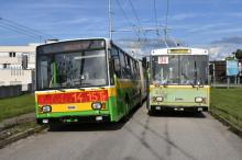 Trolejbusy Škoda 14 Tr a 15 Tr dnes v Žiline naposledy....