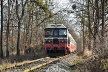 Hektor 721 230 dnes s mikulášskym vlakom do Lednice