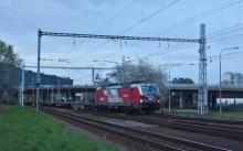 Preprava nových vozňov z Popradu do Nemecka