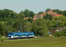 ''Žralok'' 844.015-8 na trati Benešov - Vlašim