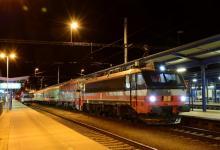 Belgičanka IDS 365.001 na vlaku do rumunské Oršavy