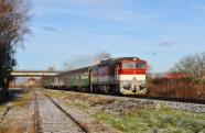 ''Prievidzsk�'' 754 014-9 na Os 6207 do Fi�akova