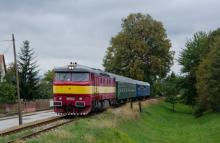 T478.1131 s mimoriadnym vlakom pre KPŽ do Nitrianskeho Pravna