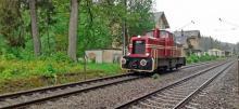 Posledná lokomotíva z bývalej Bregtalbahn