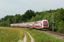 Posilnená doprava na trati Trnava - Kúty