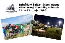 Brigáda v ŽMSR v dňoch 26. a 27. mája 2018