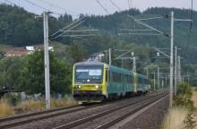 Odklon vlaku Arriva cez Valašsko