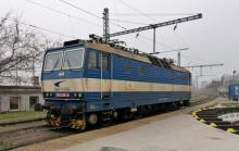 363 096-9 ZSSK Cargo dnes v čele vlakov ZSSK