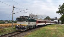 Dieslom po elektrifikovanej trati