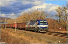 ZSSK Cargo Vectron 383.203 vo Sv�tom Jure