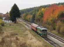 Merací vlak dnes na Myjavskej štreke