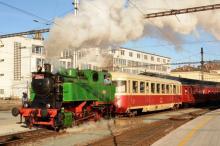 Mikulášský vlak KPKS Brno
