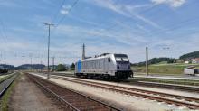 Traxx Railpool v žst. Summerau 20.7.2019