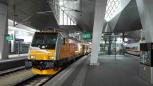 Traxx RegioJetu 386 202 dnes vo Viedni
