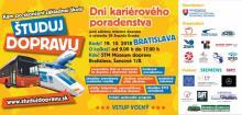 Dni kariérneho poradenstva ŠTUDUJ DOPRAVU opäť v Bratislave