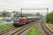 Railjet mieri naspäť do Rakúska