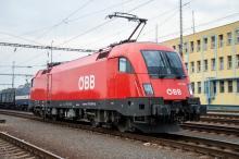 ÖBB 1116.041 na schvaľovacích skúškach na Slovensku