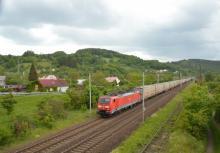 189.017 na vlaku Continental