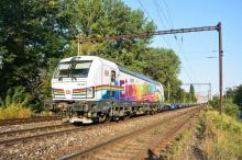 DB 193 366 ''I am Einziganders'' na návšteve v Bratislave