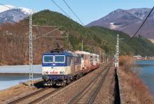 Preprava ''Trojčaťa'' EMU 89.0003 na opravu do Bratislavy