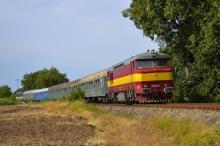 Mimoriadný vlak ''Sine Metu'' už zo Slavec Jaskyňa do Dunajskej Stredy
