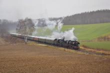 Mimoriadny parný vlak Miroslav z Nemecka do Liberca