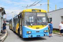 Trolejbusový deň v Košiciach